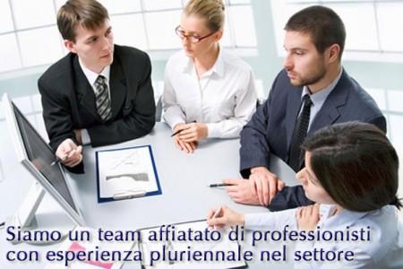 Un team affiatato di professionisti con esperienza pluriennale nel settore